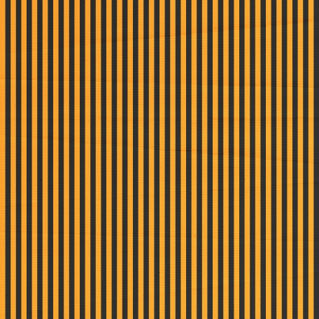 Stripes 54 Paper - Orange & Black