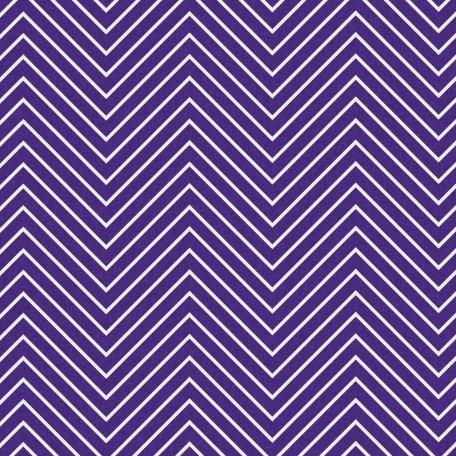 Chevron 03 Paper - Purple & White