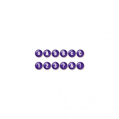 Color Basics Alpha - Purple