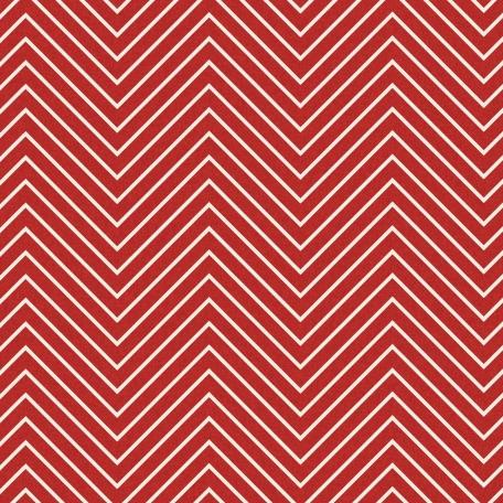 Chevron 03 Paper - Red & White