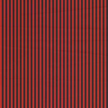 Stripes 54 Paper - Red & Black