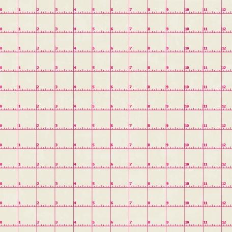 Grid 08 Paper - Pink & White