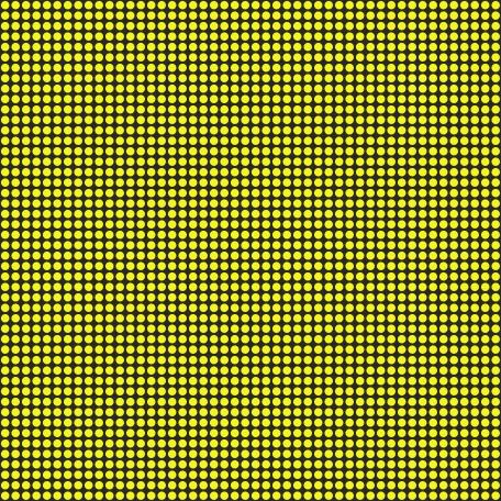Polka Dots 41 Paper - Yellow & Black