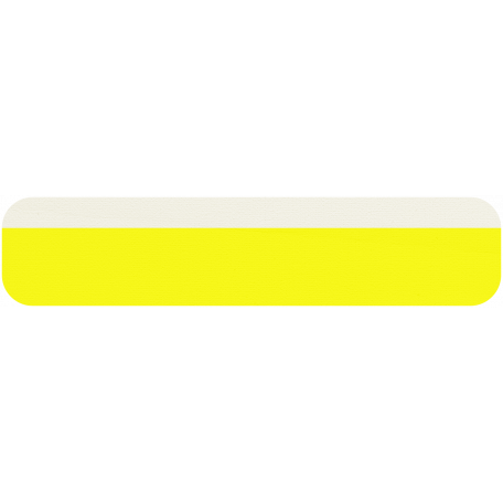 Yellow & White Tag