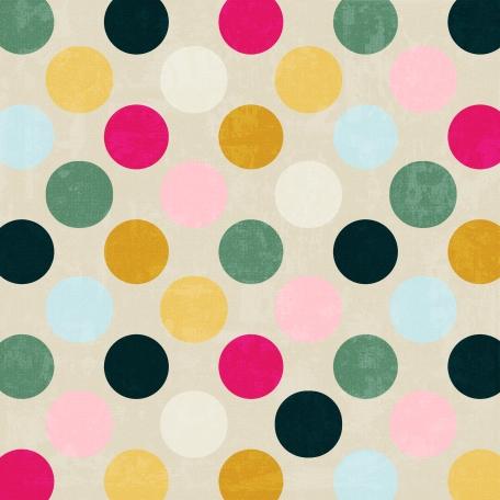 Polka Dots 44 Paper - Paris