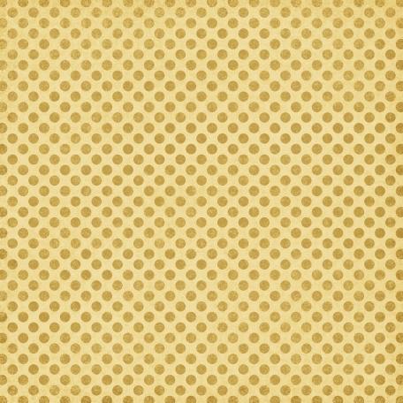 Polka Dots 23 Paper - Yellow
