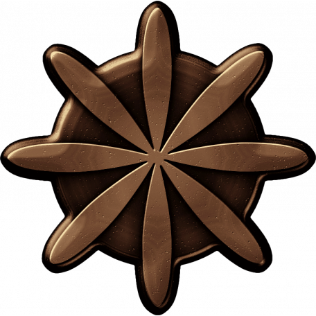 Brass Flower 02