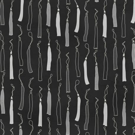 Grad 02 Paper - Black & Gray
