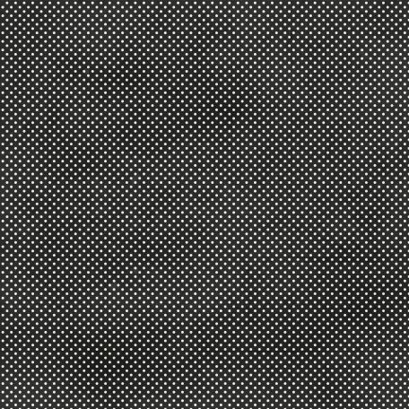 Polka Dots 19 Paper - Black & White