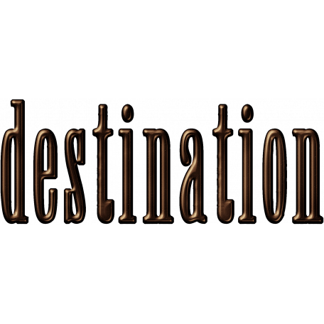 Destination Word Art