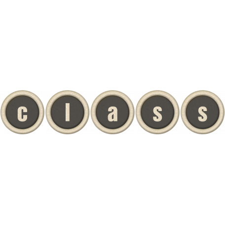 Class Word Art