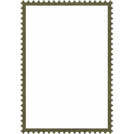 Army Stamp Frame 3x5