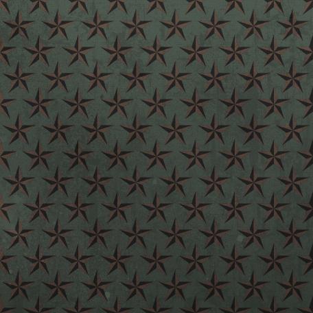 Stars 15 Paper - Marines Green