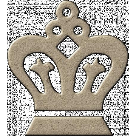 Chipboard Crown