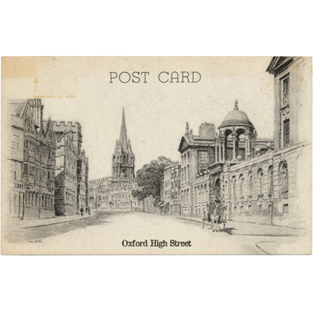 Oxford Postcard 03