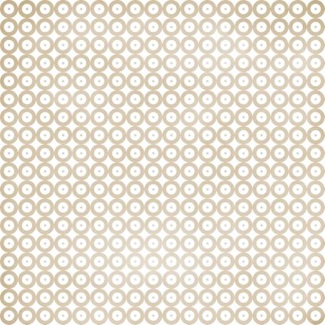 Circles 14 Paper - Brown & White