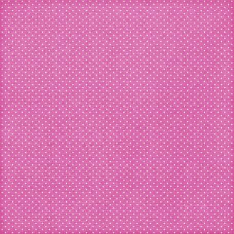 Paper 108 - Polka Dots - Pink & White