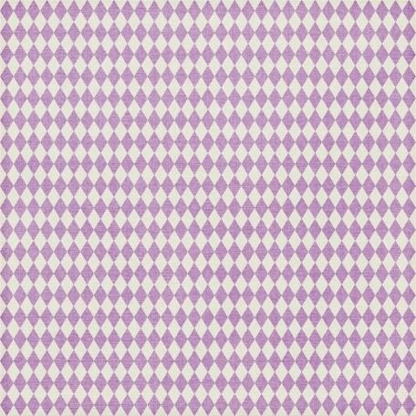 Argyle 09 Paper - Lilac & White