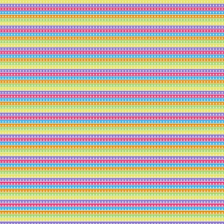 Paper 062 - Stripes - Birthday