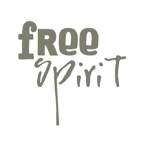 Free Spirit Word Art