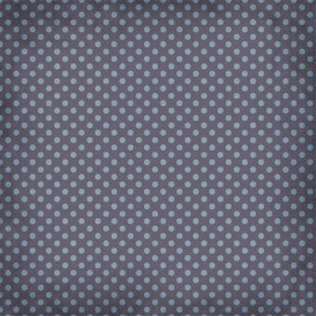 Taiwan Paper - Polka Dots 12 - Blue