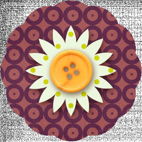 Taiwan Paper Flower 10p - Circles