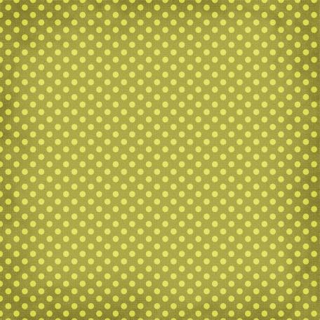 Taiwan Paper - Polka Dots 12 - Lime Green