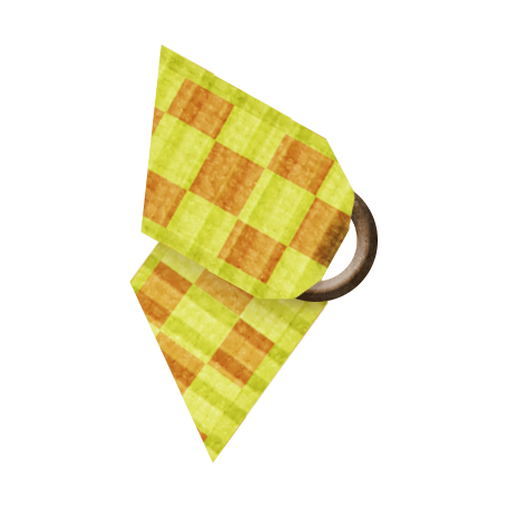 Taiwan Ribbon - Folded - Gingham