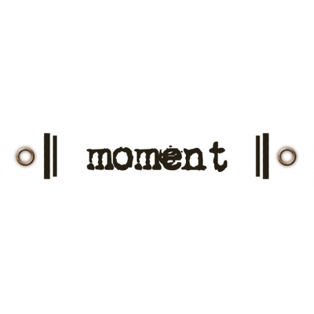 Travel Label - Moment