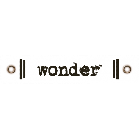 Travel Label - Wonder