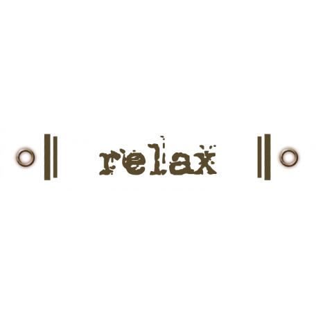 Travel Label - Relax