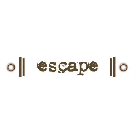 Travel Label - Escape