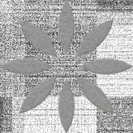 Change Felt Flower - Grey