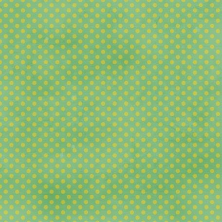 Dino Paper - Green Polka Dot