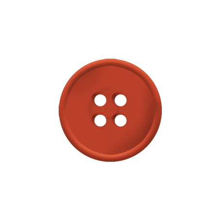 Dino Button - Red