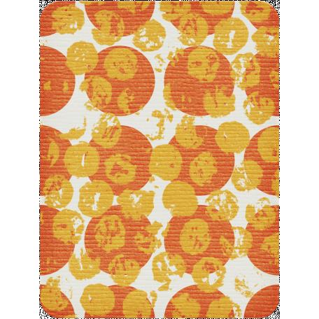 Dino Journal Card - Large Polka Dots