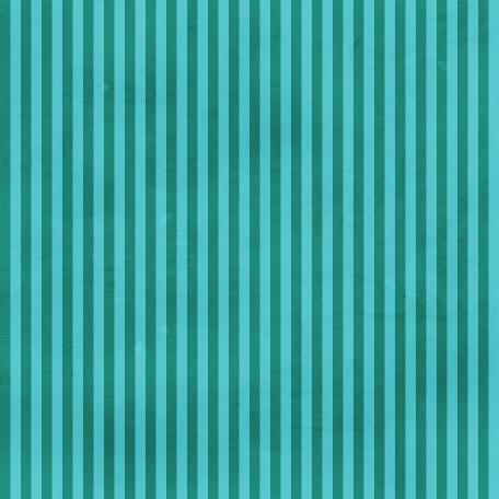 Dino Paper - Teal Stripes