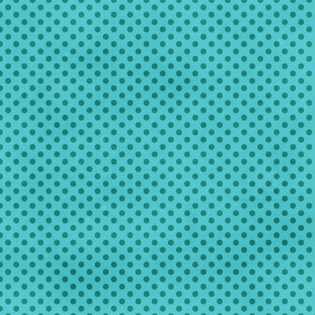 Dino Paper - Teal Polka Dot