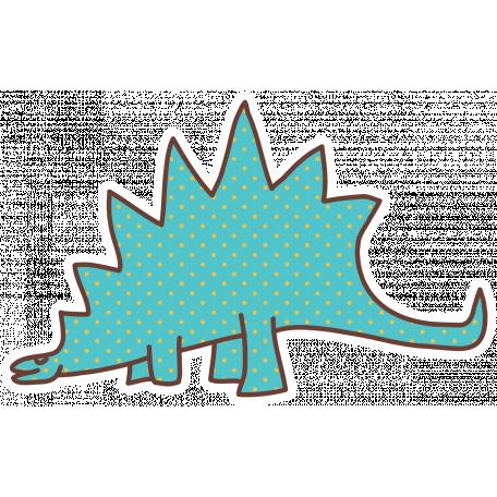Dinosaurs Sticker - Stegosaurus
