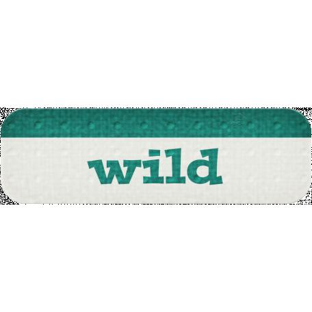 Wild - Dino Word Art