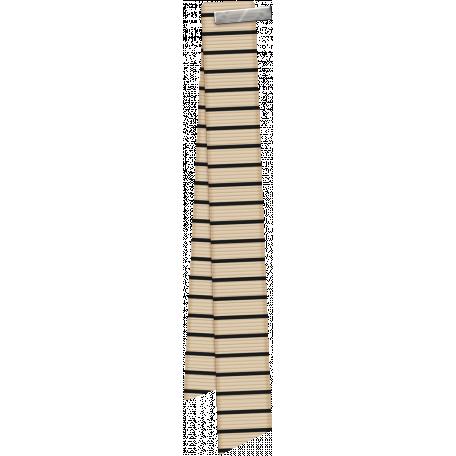 Berlin Tan Folded Ribbon