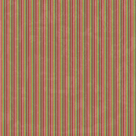 Stripes 48 Paper - Pink & Green