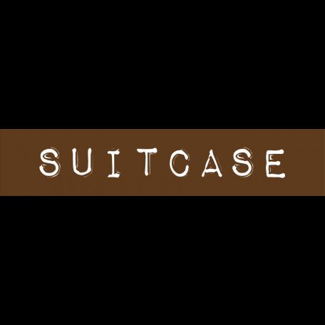 Cambodia Suitcase Label