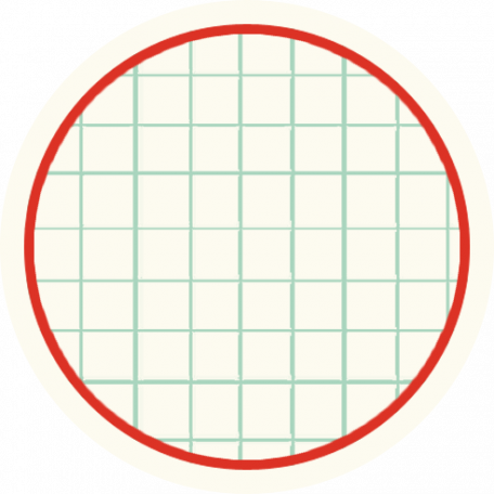 Cambodia Grid Tag - Circle Small