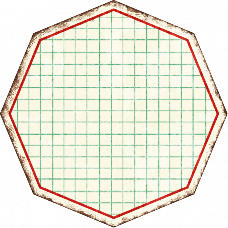 Cambodia Grid Tag - Octagon Grunge