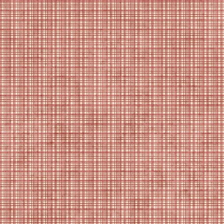 Plaid 19 Paper - Red