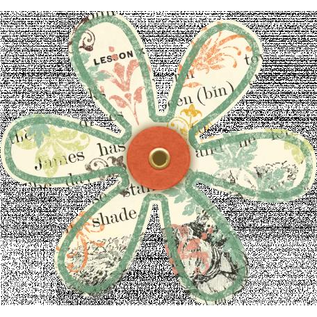 Discover Flower - Soft Petal Text