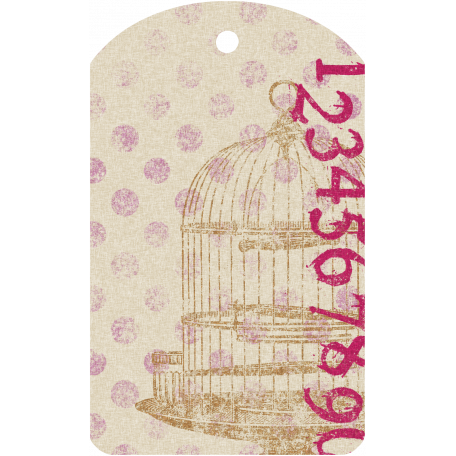 Malaysia Tag - Bird Cage & Numbers