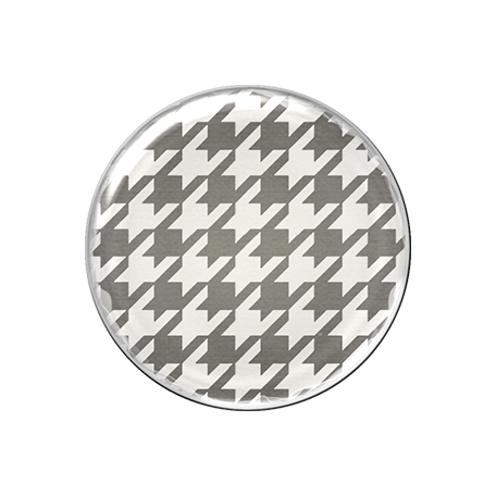 Malaysia Plastic Brad - Grey Pattern