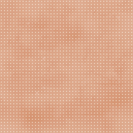 Laundry Dark Peach Polka Dot Paper